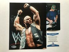 Stone Cold Steve Austin Hot! signed autographed WWE 8x10 photo Beckett BAS coa
