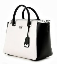 Volumen groß große Vielfalt Stile USA billig verkaufen Michael Kors Tasche Schwarz Weiß günstig kaufen   eBay