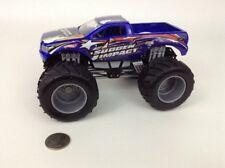 Hot Wheels Monster Jam 1:24 Die-cast Toy Monster Truck Sudden Impact Mattel 2004