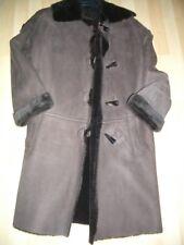 Ladies Nicole Farhi Sheepskin Coat size 10