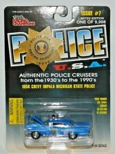 RACING CHAMPIONS POLICE USA 1958 CHEVY IMPALA MICHIGAN STATE POLICE