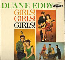 "DUANE EDDY ""GIRLS ! GIRLS ! GIRLS !"" INSTRUMENTAL ROCK LP 1961 BRENDA LEE !"