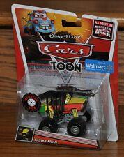 2013 Disney Pixar Cars Toon Deluxe Die Cast Monster Truck Mater Rasta Carian NEW