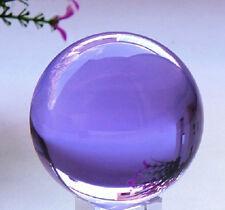 Natural Quartz Purple Magic Crystal Healing Ball Sphere 40mm+Stand LL002