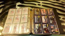 Desert Storm Iraq Trading Cards Binder Full Good Condition