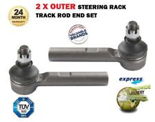 FOR TOYOTA HIACE POWER VAN 1995-2010 NEW 2 X OUTER STEERING RACK TRACK ROD ENDS
