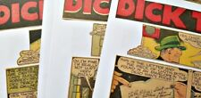 9 Dick Tracy Sunday Comic Pages