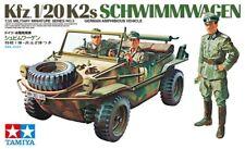 Tamiya 35003 1/35 Scale Military Model Kit WWII German Kfz.1/20 K2s Schwimmwagen