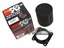 Air Intake MAF Sensor Adapter + K&N Filter Kit for Infiniti 03-07 FX35 3.5L V6