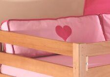 Relita Kissen Seitenkissen Hochbett Etagenbett Spielbett Einzelbett pink rosa