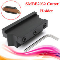 SMBB2032 Grooving Cut-Off Blade Holder Bar For SPB32 SP300 CNC Milling Cutter