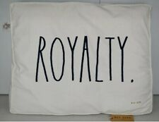 NWT RAE DUNN Large Royalty Dog Pillow Bed Removable Cover HARD TO FIND ITEM!