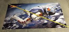 Banner skydive suit helmet poster parachute wing suit equipment googles backpack