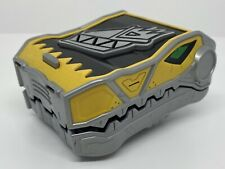 POWER RANGERS ? Yellow Dino Charge Energy CASE Yellow + 1 Energy Charger #6!