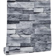 3D Brick Stone Self Adhesive Wallpaper Vinyl Wall Coverings Stickers Bedroom 19'