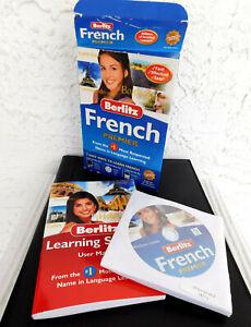BERLITZ FRENCH PREMIER (8 CD Set for Windows & Mac): Complete Language System