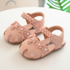 New Summer Baby Sandals Toddler Girls Sandal Shoes Baby Size 4-8.5