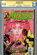 Avengers Vol 3 23 CGC 9.8 SS X2 Stan Lee Perez Busiek Vision Highest on census