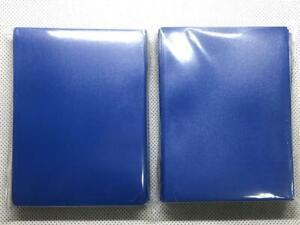 Lenayuyu 2packs Blue Deck Protector Card Sleeves YuGiOh Vanguard 62x89mm Matte