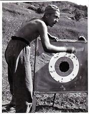 foto epoca fascista giovane fascista al campo