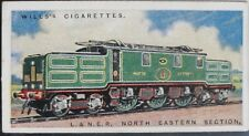 Single: No.17 LNER ELEC ENGINE 13 - Railway Engines - W.D.& H.D. Wills: 1924