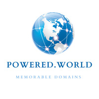 POWERED.WORLD One Word Premium Domain Name For Sale, Startup Business