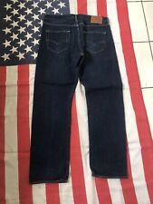 LEVIS 501 big e Blue Denim Jeans  W 34 L 30 Levi