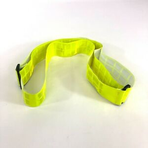Yellow Reflective PT Belt, US Military Physical Training Elastic Running Belt