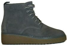 Womens Ladies Timberland Grey Suede Boots Mid Ankle Size UK 5.5  EU 38.5