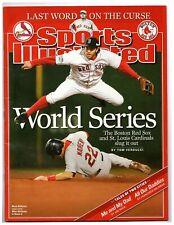 Si: Sports Illustrated November 1, 2004 World Series Red Sox vs Cardinals