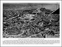 1928 Constantinople Istanbul aerial view Hippodrome vintage photo article ads61