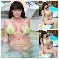 Sophie Dee 4x6 (Set of 3 photos + BONUS) soaking For Summer