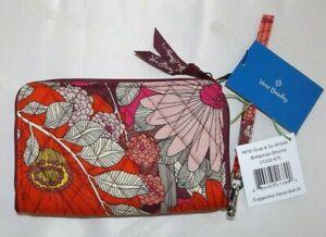 VERA BRADLEY - RFID Grab & Go Wristlet Wallet - Bohemian Blooms - New with Tag