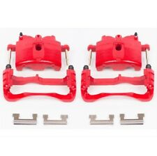 Powerstop S4730-Performance Brake Calipers Powder Coated Red-Front