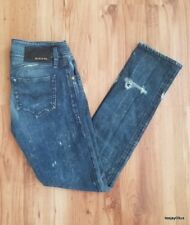 ~NICE!~ Women's Diesel Industry 0063f MATIC Distressed Destroyed Jeans Size 26