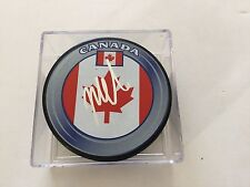Mike Cammalleri Signed Team Canada Hockey Puck Autographed a