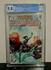 War of the Realms: New Agents Of Atlas #1 3rd Print CGC 9.8 1st Apps