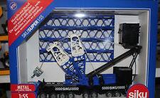 Siku 4810 Schwerer Mobilkran 1:55 NEu in OVP blau