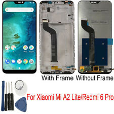 For Xiaomi Mi a2 Lite/Redmi 6 Pro Display LCD Touch Screen + Frame Black rhn02