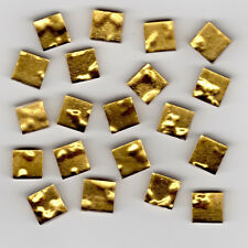 20pcs Oro Ripple Gold Smalti 10.201P Glass Mosaic Tiles 1x1cm 1st Quality