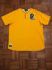 Polo Sport 1967-2003 Baseball Yellow Adult XL Short Sleeve Jersey PRL
