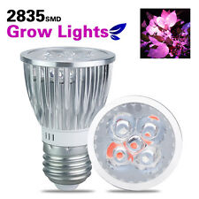 E27 LED Plant Grow Light Lamp 5W Flexible Clip Clamp Hydroponic 3 Red and 2 Blue