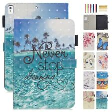 """Cute Pattern Magnetic Wallet Stand Smart Case Cover Fr iPad Air2/Mini/234/9.7"""""""