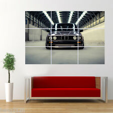 BMW E30 SPORT CAR Poster Giant Print Wall Art Room Decor T1
