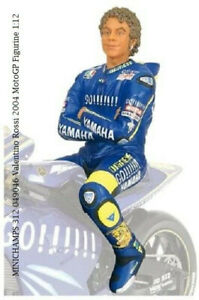 MINICHAMPS 312 049046 Valentino Rossi 2004 no sunglasses MotoGP Figurine 1:12