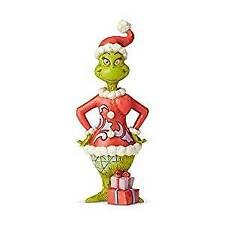 Enesco Grinch By Jim Shore Grinch With Big Heart, Figurine, 8.86""