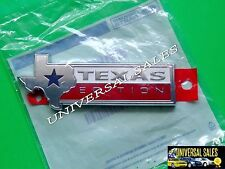 TEXAS EDITION FORD F150 EMBLEM BADGE NAMEPLATE TAILGATE GENUINE OEM NEW IN BAG