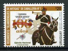 Uruguay 2018 MNH Blandengues de Artigas Cavalry Regiment 1v Set Military Stamps