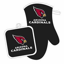 Arizona Cardinals Oven Mitt and Pot Holder Set