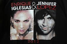Jennifer Lopez Enrique Iglesias Dance Again Tour 2012 T-Shirt XL